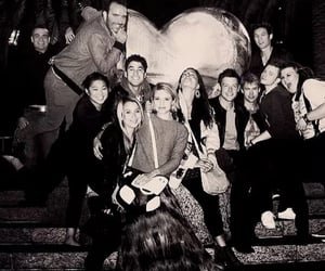 glee, dianna agron, and glee cast image
