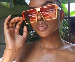beauty, glasses, and shades image