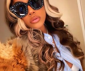 girl, sunglasses, and shades image