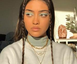 girl, makeup, and woman image
