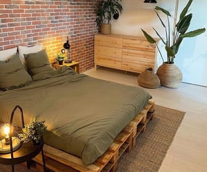 bed, design, and furniture image