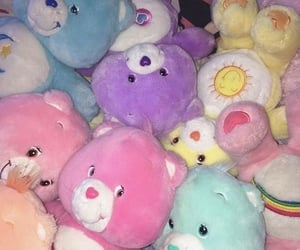 aesthetic, 90s, and care bears image