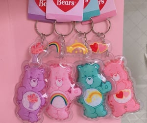 aesthetic, pink, and care bears image