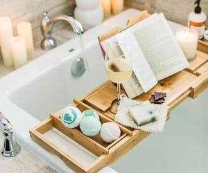 bath, bathroom, and homedecore image