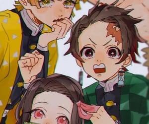 anime, kimetsunoyaiba, and wallpaper image