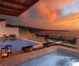 luxury, pool, and travel image