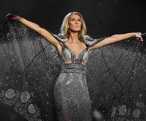 celine dion, my heart will go on, and courage image