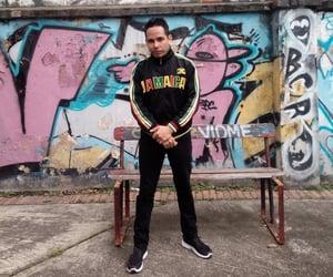 black, energy, and grafitti image