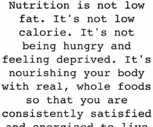 food, quote, and health image