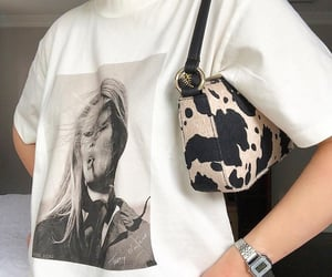 fashion, style, and cow print image