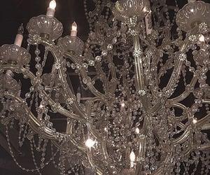 aesthetic, chandelier, and luxury image