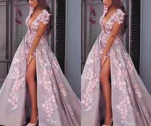 prom gowns, vestido de festa, and floral prom dresses image