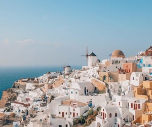 travel, Greece, and beautiful image