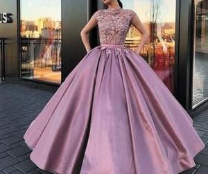 robe de soirée, vintage prom dress, and vestido de graduación image