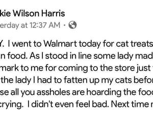 walmart, cat treats, and hoarding food image