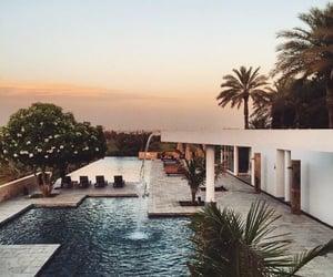 pool, home, and house image