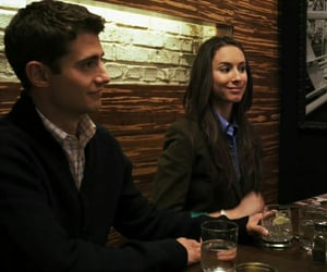 julian morris, troian bellisario, and spencer hastings image