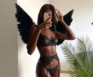 angel, sexy, and tan image