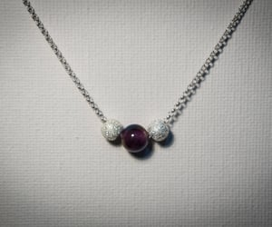 crystal necklace, etsy, and birthday gifts image