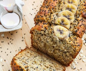 banana, food, and honey image
