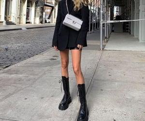 black, fashion, and street image