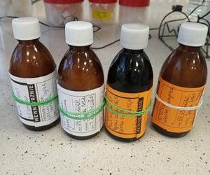drugs, medicine, and laboratory image