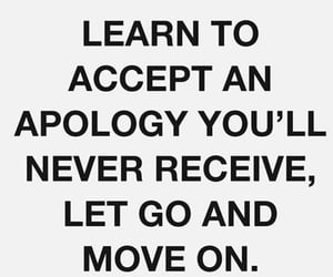 advice, apology, and be yourself image