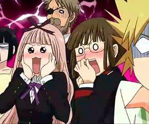 anime, funny, and anime girls image