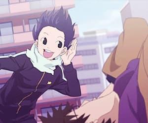 anime, funny, and anime boy image