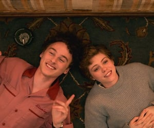 high, wyatt oleff, and sophia lillis image