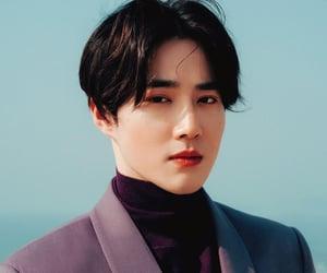 exo, handsome, and joonmyun image