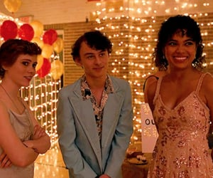 homecoming dance, wyatt oleff, and dina image