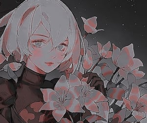 icon, 2b, and nier:automata image