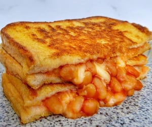 beans, cheese, and food image