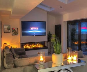 candles, house, and netflix image
