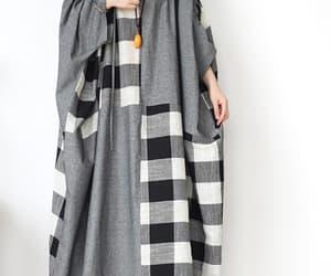 etsy, cotton dress, and oversized dress image