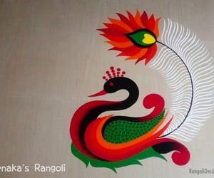 art, rangoli design, and rangoli image