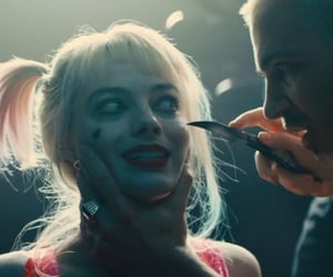 harley quinn, birds of prey, and victor zsasz image