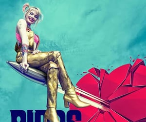 harley quinn, margot robbie, and birds of prey image