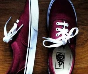 fashion, vans, and red image
