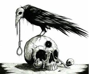 black, dark, and death image