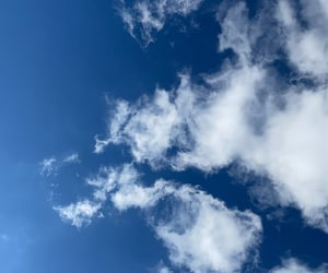 clouds, spring, and feelfree image