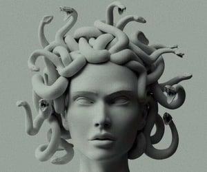 wallpaper, medusa, and snake image