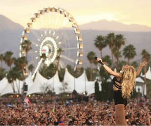 coachella, festival, and concert image