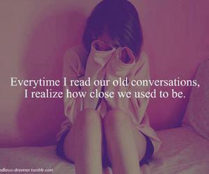 quotes, sad, and conversation image