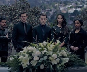 blue, funeral, and justin foley image