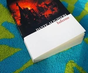 books, inferno, and nerd image