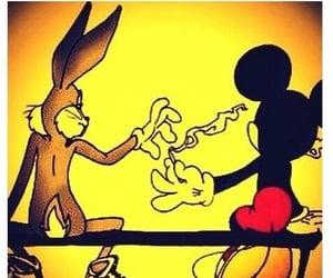 bugsbunny, entertainment, and marijuana image