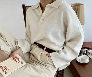 beige, book, and casual image