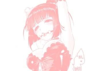 hentai and pastel pink image